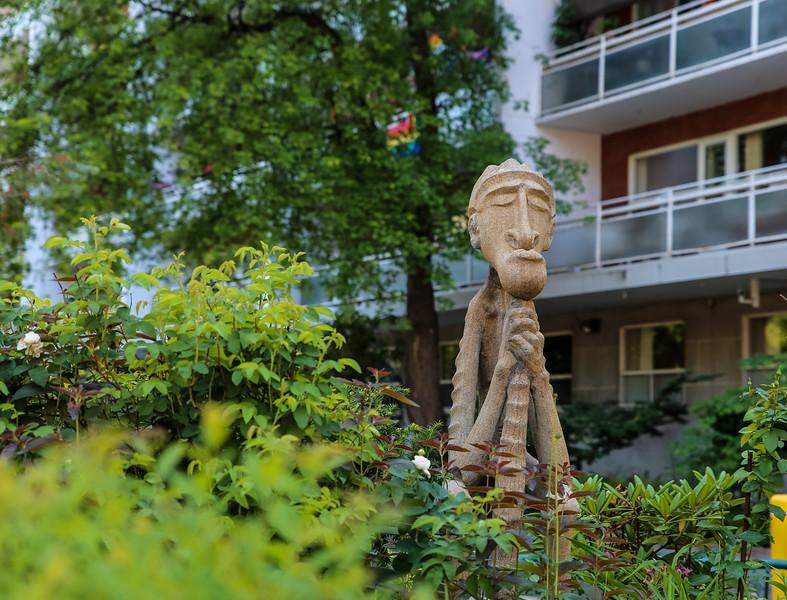 Church Street Garden Figure