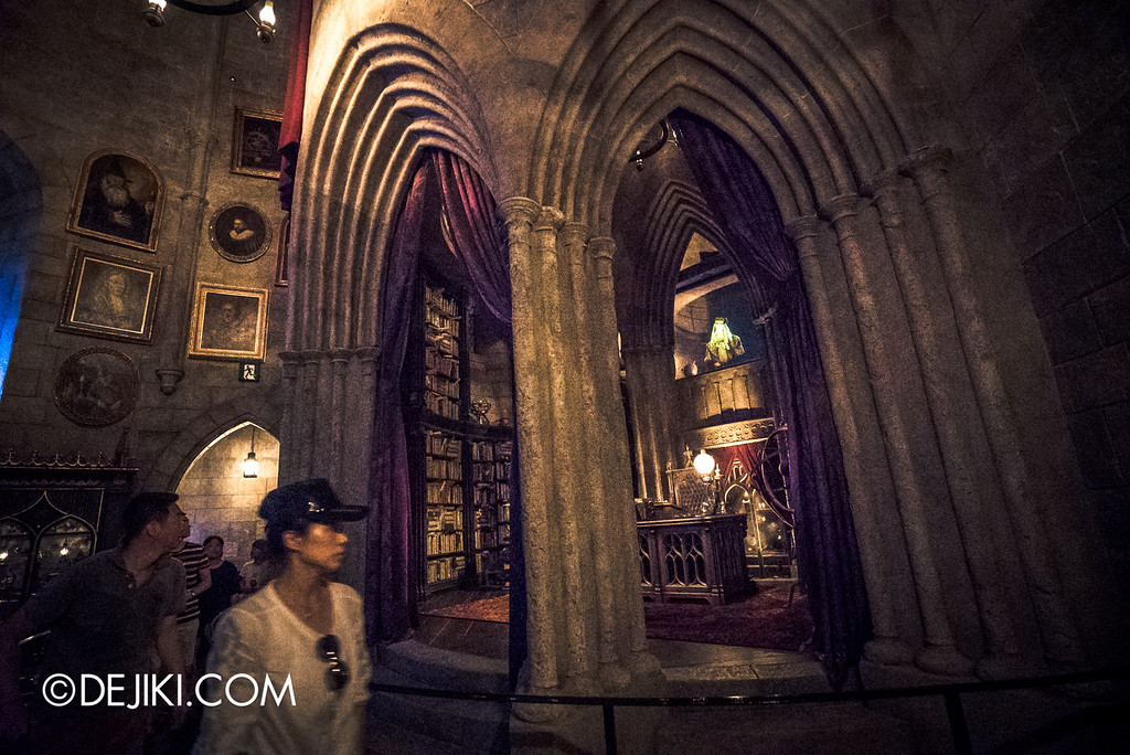 Universal Studios Japan - Harry Potter and the Forbidden Journey / Hogwarts Castle Walk Tour - Dumbledore's Study wide