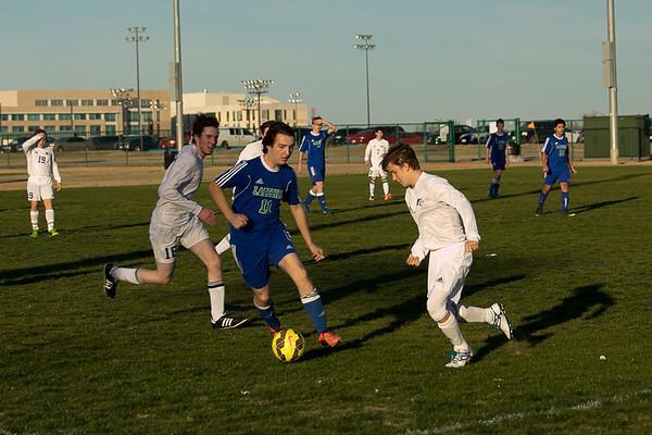 Varsity Soccer at Shelton 1.31.17