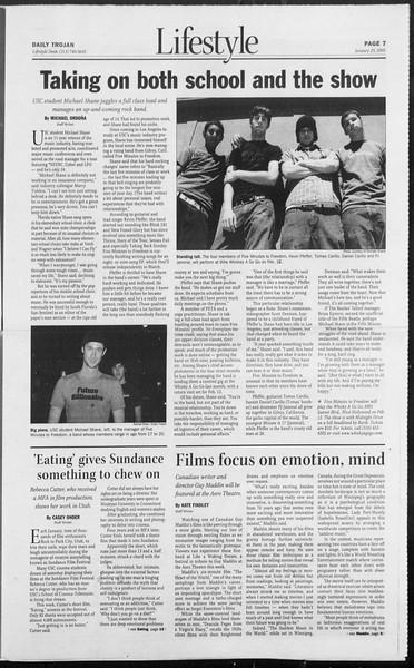 Daily Trojan, Vol. 154, No. 9, January 25, 2005