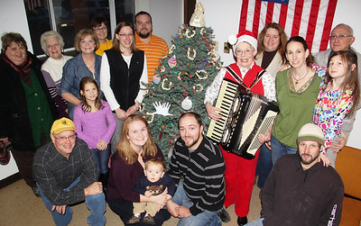 Christmas Tree Lighting, Party, WP Lions Club, Annex, West Penn (11-30-2013)