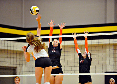 2014 PC Varsity Volleyball vs St. Teresa's Academy
