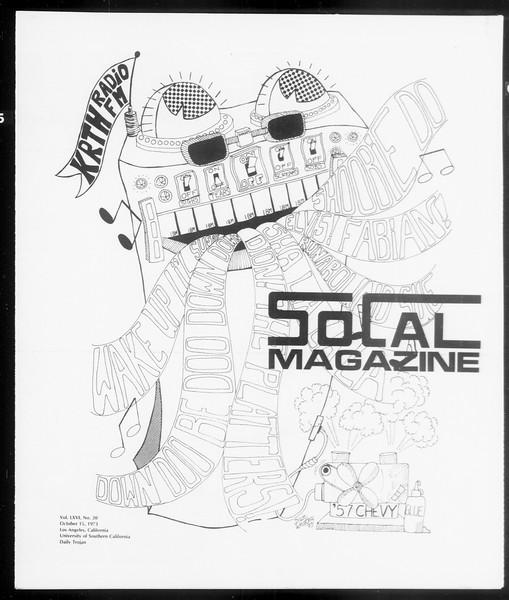 SoCal Magazine, Vol. 66, No. 20, October 15, 1973