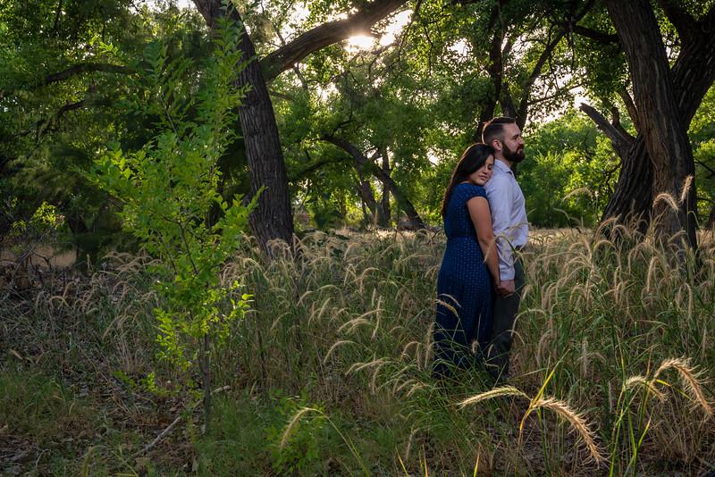 Summer Bosque Engagement Session Corrales New Mexico AJ & Gloria-7170.jpg