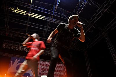 2010 Big Free Concert - I Fight Dragons, Travie McCoy, Cobra Starship and 3oh3!