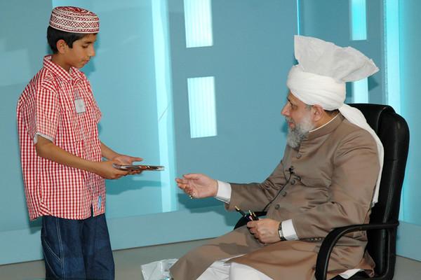 Huzur with Waqf-e-Nau Class