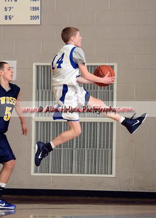 Boys Freshmen Basketball - Owosso at Mason - Feb 24