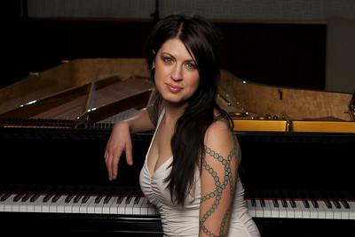 Leslie Brown Piano Shoot