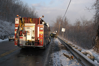 MAHANOY TOWNSHIP VEHICLE ACCIDENT 3-1-2008 PICTURES BY COALREGIONFIRE