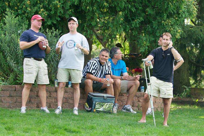 Hugo Flag Football Party  2010-08-22  17
