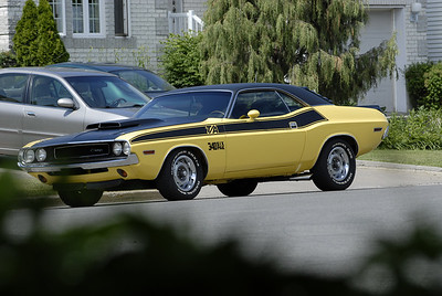 Dodge Challenger 340 6 pack