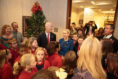 12-08-2015 Governor's Office Christmas Tree Lighting
