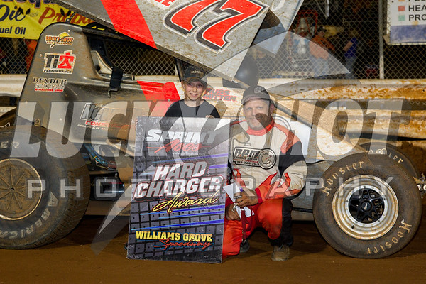 Williams Grove SNS 7/5/2014 Firecracker 30