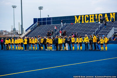 10-31-15 - Michigan Field Hockey Vs Ohio State (Senior Day)