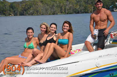 Boating Raft Up - 10.12.13