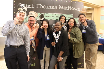 Saint Thomas Midtown Hospital's 100th Birthday Celebration - Photo Booth Fun