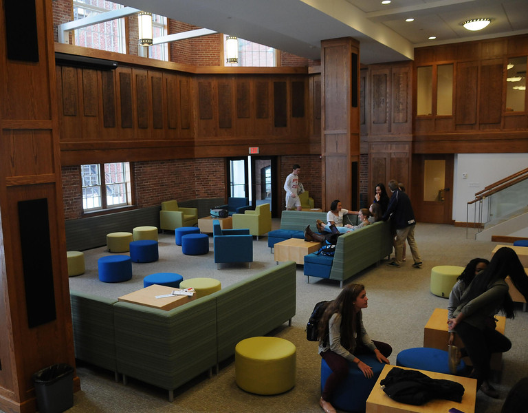 and a place where students can gather, study informally, socialize, and interact.