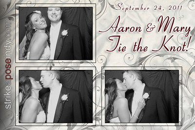 Aaron & Mary Tie the Knot!