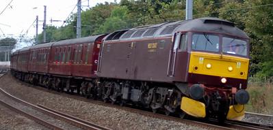West Highlander, 25 September 2009: Preston - Glasgow