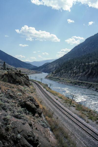 Railroad - Somewhere in BC, Canada - Summer 1990
