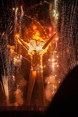 Burning Man 2015 Carnival of Mirrors