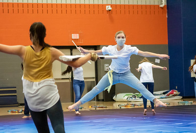 Winter Guard Rehearsal, week of March 1-4, 2021