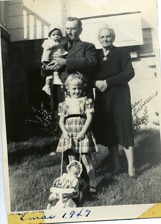 Lon Adam and Elise Hudson Wyatt Family Photos