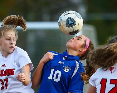 2020-10-20 WHS Girls Soccer vs Spaulding