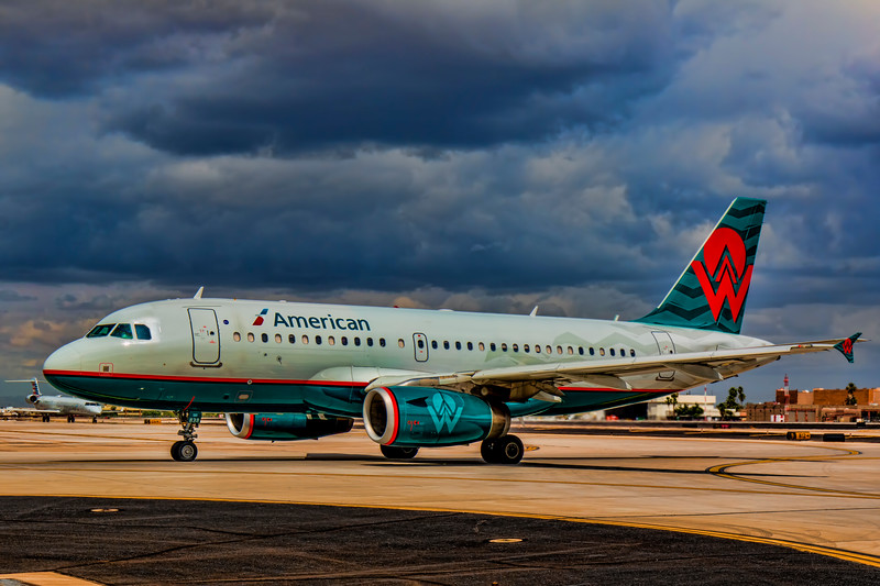 American Airlines - America West Livery - N838AW - w/out border