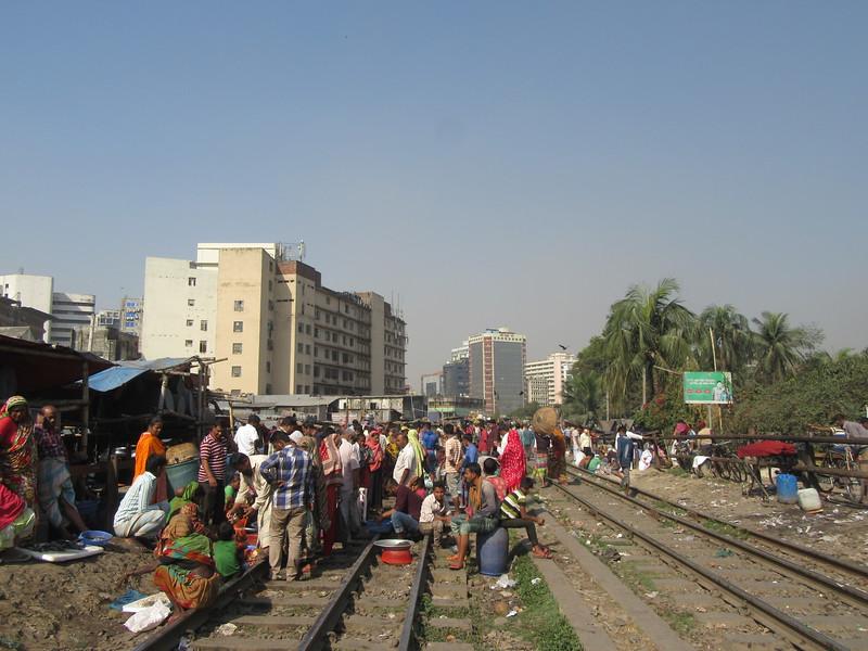 033_Dhaka. Rail Tracks Activities.JPG