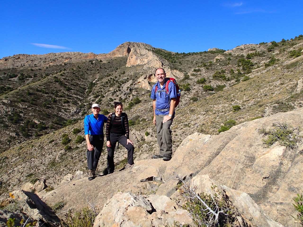 Creating a new route on the Cabezon de Oro