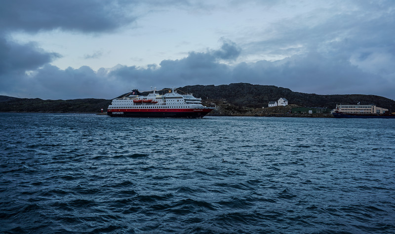 Our Ferry out of Bodø