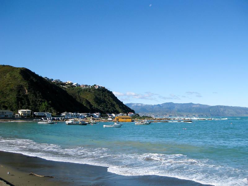 Island Bay in Wellington