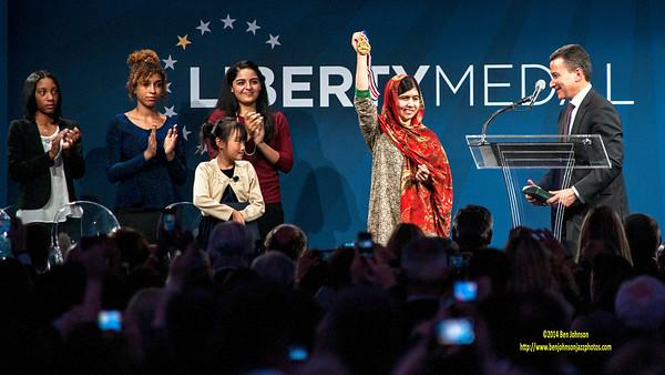 2014 Liberty Medal Award to Malala Yousafzai
