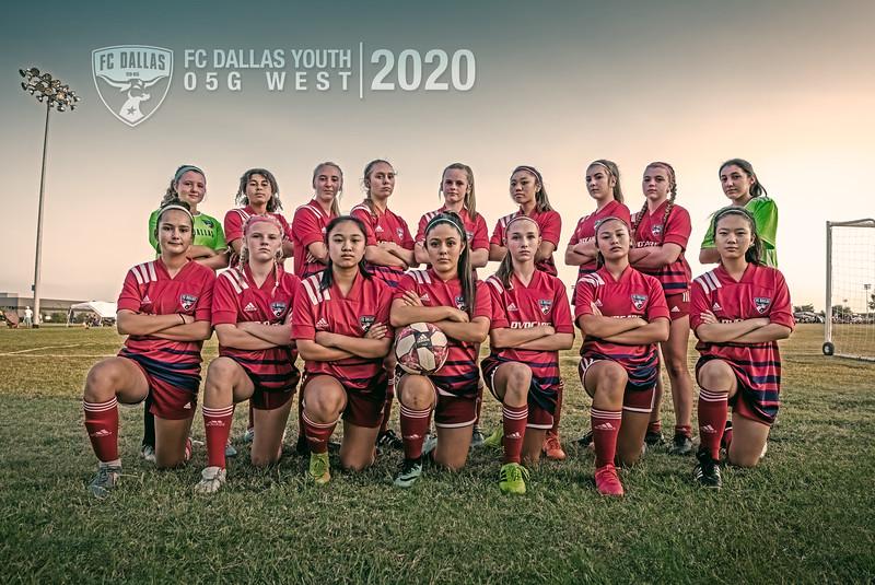 FC Dallas 05G West 2020