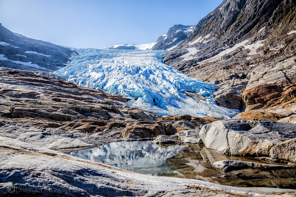 Svartisen Glacier, Norway