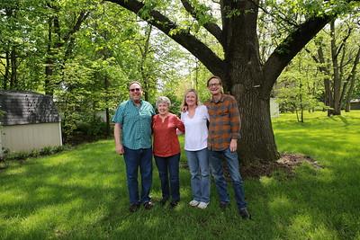 Freeman family gathering in Plattsburg