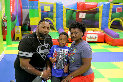 AJ Holmes 4th birthday party