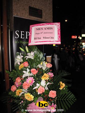10 anniversary@mes amis | 19 september 2009