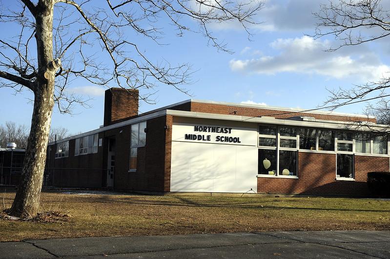 2/6/2013 Mike Orazzi | Staff Northeast Middle School in Bristol.
