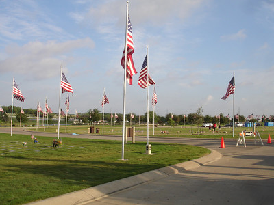 2012 Flags at National Cemetery