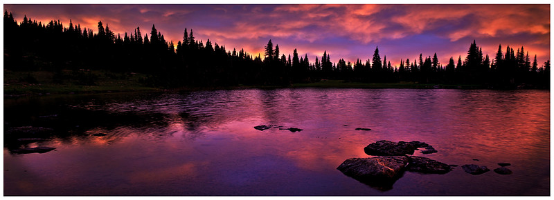 128.Scott Carter.1.Sunset on Picknick Lake.jpg
