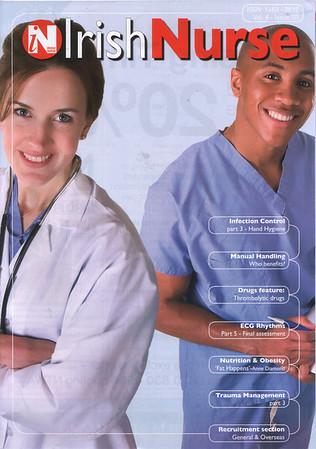 IRISH NURSE MAGAZINE MARCH 2007 (Trade)