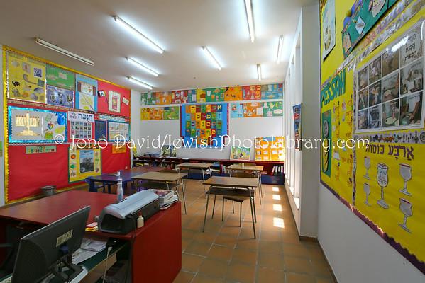 AFRICA, Congo, Democratic Republic of, Kinshasa. Classroom (3.2014)
