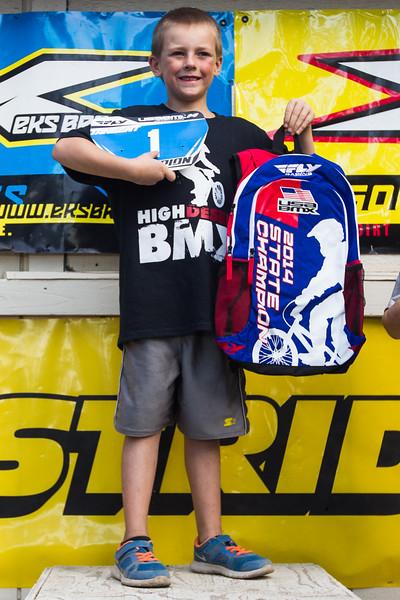 2014 Oregon State BMX Championship Podiums