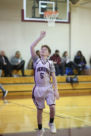 2018-19 Verona Boys 8th Grade Basketball