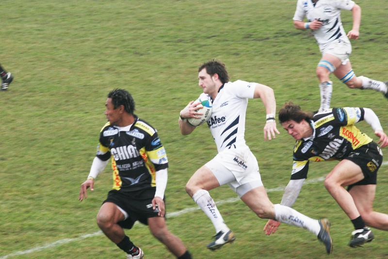 Calvisano rugby team, Italy