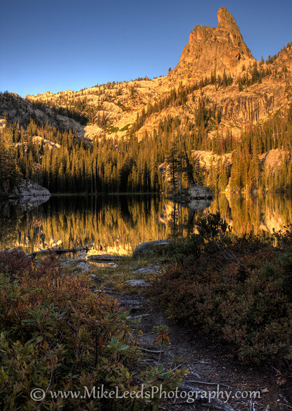 Finger of Fate in the Sawtooth Mountains, Idaho. HDR