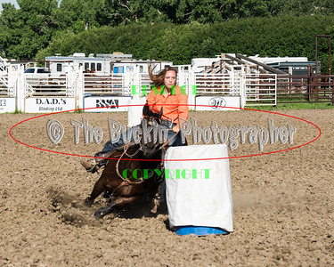 Jenner 2014 Barrel Racing Slack