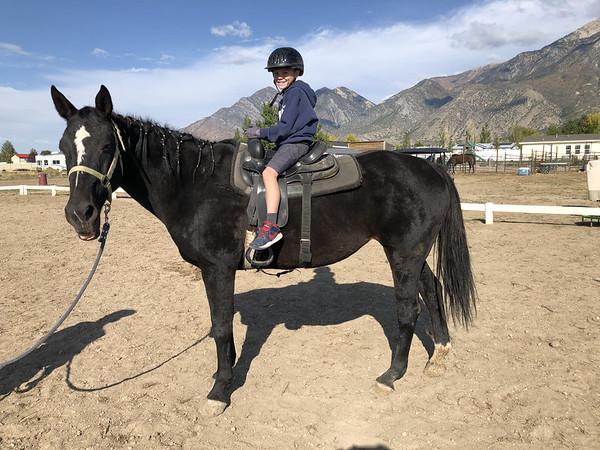 Horse riding 9/30/21